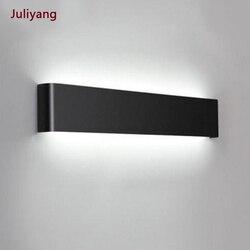 Светодиодный настенный светильник 4 Вт/8 Вт/14 Вт/20 Вт, современный зеркальный светильник, алюминиевый бра для спальни, прохода, гостиной, кори...