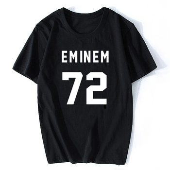 Eminem T Shirt EMINEM 72 Print Back  White T Shirt Male T Shirt Casual Cotton Funny Shirt Tumblr Camiseta Mujer цена 2017
