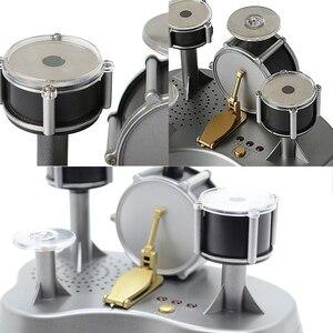 Image 5 - Strongwell Vinger Touch Mini Drum Miniatuur Beeldjes Percussie Speelgoed Creatieve Home Decoratie Accessoires Cadeau Voor Vriendje