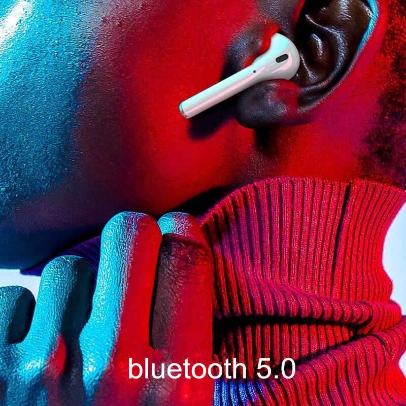 Oryginalny i10 TWS słuchawki Bluetooth sterowanie dotykowe 1:1 rozmiar z typu C port ładowarki dla wszystkich smartfonów PK i30 tws i20 tws i100