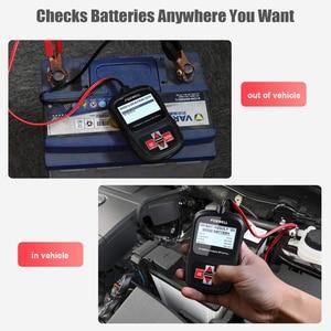 Image 3 - FOXWELL BT100 PRO 6V 12V Car Battery Tester For Flooded AGM GEL 100 to 1100CCA 200AH Battery Health Analyzer Diagnostic Tool