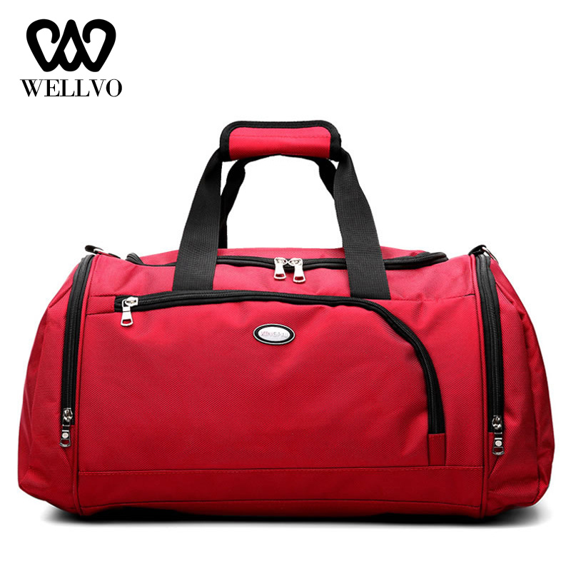 Hot Multifunctional Travel Bags Women Waterproof Nylon Yoga Handbag Tote Luggage For Men Fitness Training Big Duffle Bag XA806WB