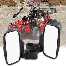 1 Pair Universal Type ATV UTV Side Rear View Mirrors Motorcycle Rearview Mirror Accessories for Polaris RZR XP1000 XP1K Turbo vz21 rhb31 turbo for small engine 100hp rhino motorcycle atv utv turbocharger turbine