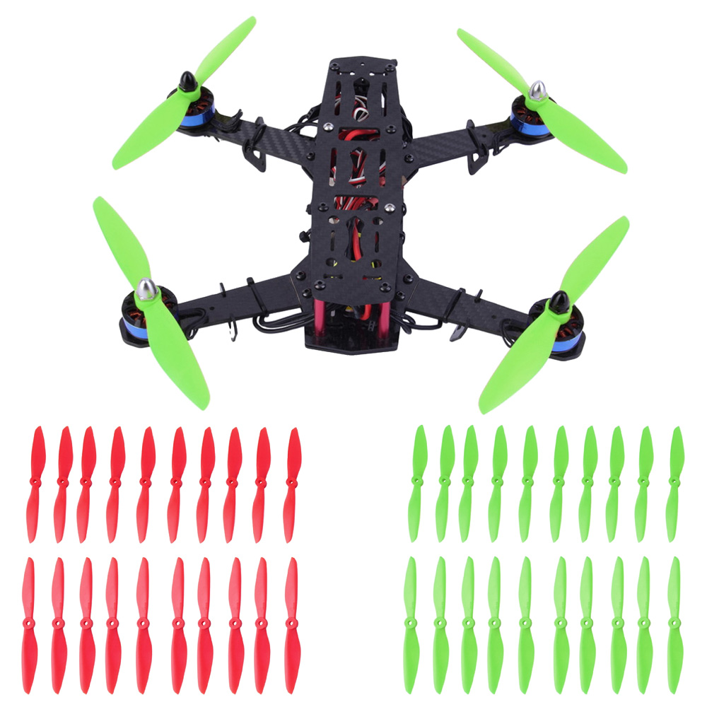 10pair/lot KINGKONG <font><b>6040</b></font> 6*4 <font><b>propeller</b></font> prop CW/CCW RC QAV 250 Quadcopter Multi-Copter image