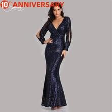 Винтажное закрытое кружевное платье с длинными рукавами и блестками
