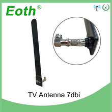 лучшая цена 2pcs Eoth Indoor TV Antenna 1080P Ditch Cable Smart TV Stick AerialTV Stick Clear Smart TV Switch Antenna HDTV FREE Digital