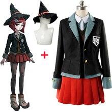 Danganronpa V3 magician Yumeno Himiko cosplay costume school