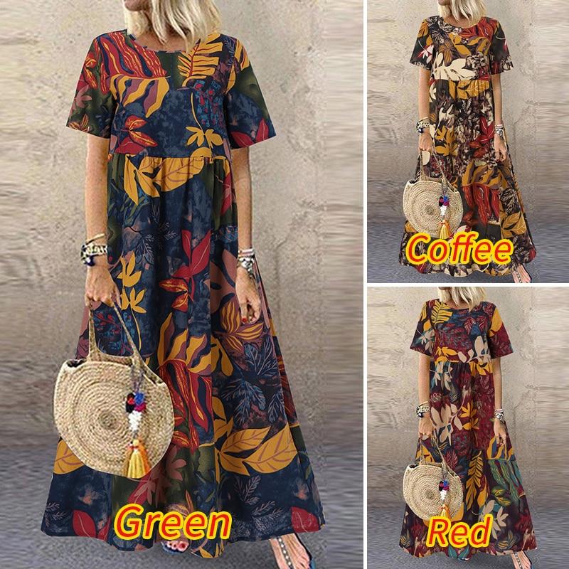 Summer Maxi Dress Women's 5