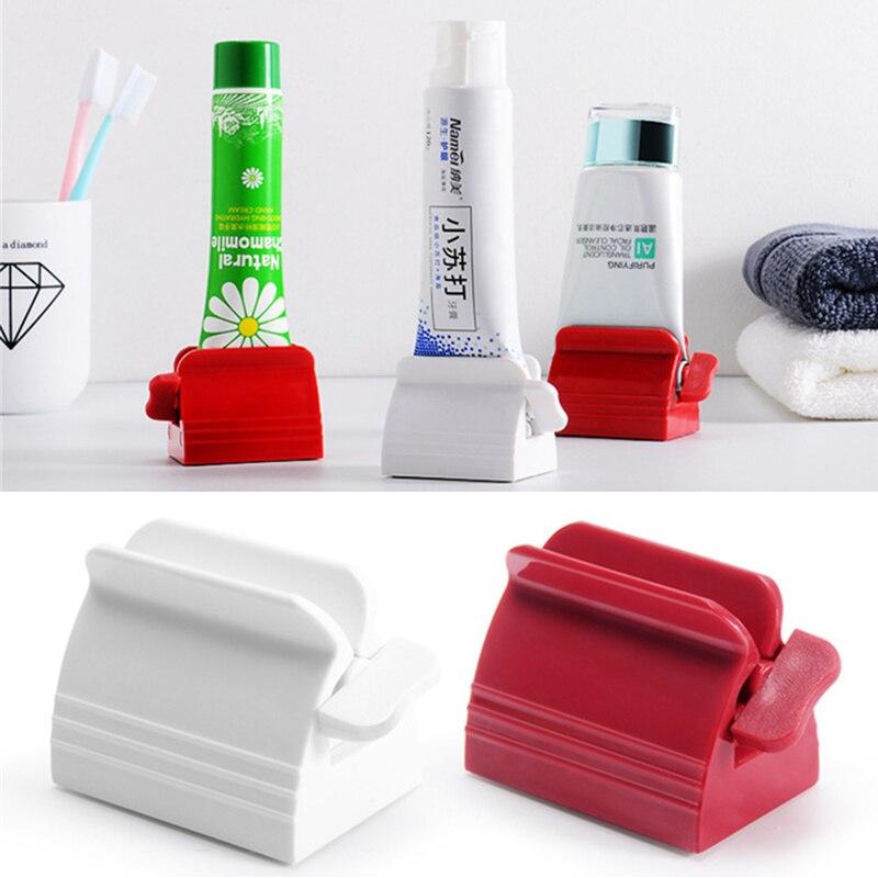 Новый многофункциональный пресс для зубной пасты ручной соковыжималка зубная паста легко портативный пластиковый диспенсер Аксессуары дл...