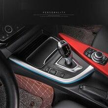 For BMW 3 4 Series 3GT F30 F31 F32 F34 F36 2013-2017 Control Gear Shift Panel Decorative Strip Cover Trim Car Accessories New