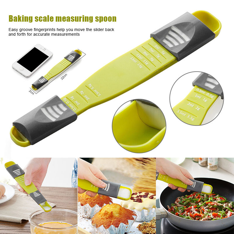 Kitchen Measuring Spoon Adjustable Multifunctional Tools Kitchen Scales Accessories YU-Home