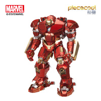 Piece cool 3D Metal Puzzle Figure Toy Armor model kits Educational Puzzle 3D Model Gift jigsaw Toys For Children