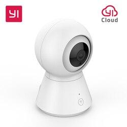 Inteligentna kamera kopułkowa 1080p zasilana przez YI Pan/Tilt/Zoom bezprzewodowa kamera ip Wi Fi kamera monitorująca YI Cloud w Kamery nadzoru od Bezpieczeństwo i ochrona na