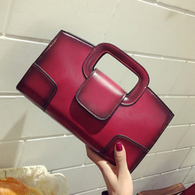 Retro Pu Chain Flap Women Handbags Fashion Ladies Shoulder Bags Gradient Casual Chic Crossbody Messenger Bag