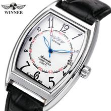 WINNER Official Brand Luxury Women Watches Leather Unisex Auto Mechanical Ladies