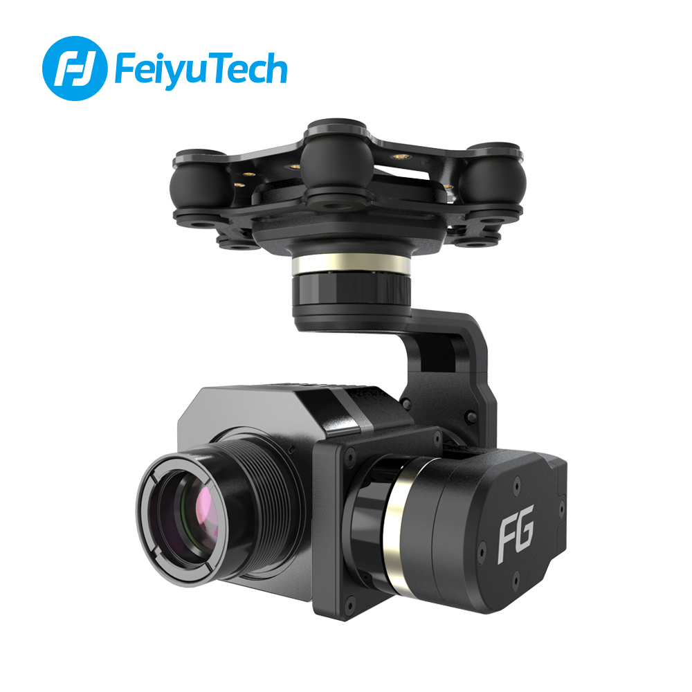 FeiyuTech FG Mini 3D Pro 3 Axis Brushless Aircraft Gimbal for Helicopters with 360 Degree Panning image