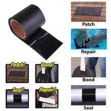 Cinta adhesiva para reparación de fugas, tubo de sellado de fibra súper fuerte, rendimiento impermeable, autoadhesivo, pegatina de tubo aislante de goma