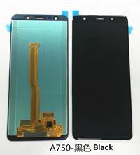 AAA jakości 100% Test do Samsung Galaxy A7 2018 A750 A750F SM A750F A750FN wyświetlacz ekran dotykowy wymiana Digitizer zgromadzenie