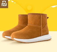 Youpin Fashion Children Casual Cow suede Shoes Baby Boys Girls Snow Martin Boots Kids Running Shoes Child Sneakers