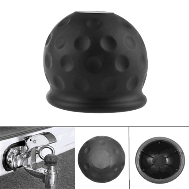 New Universal Rubber Tow Bar Ball Cover Cap Towing Hitch Caravan Trailer Tow Ball Protector Cover