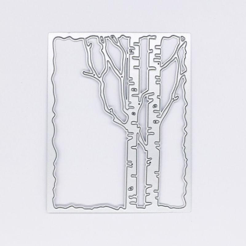 Branch Frame Cutting Dies Stencil DIY Scrapbooking Embossing Paper Card Crafts