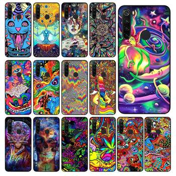 Babaite Psychedelic Trippy Art Phone Case for Xiaomi Redmi 5 5Plus 6 6A 4X 7 8 Note 5 5A 7 8 8Pro image