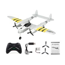FX-816 World War II Air Force P38 RC Airplane 2.4GHz 2CH RC Aircraft Fixed Wing Outdoor Flight Drone For Kid Toys