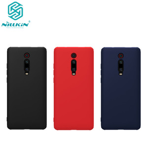 Image 1 - Nillkin Rubberized TPU Case for Xiaomi Redmi K20 Case Rubber Wrapped Liquid Silicone Soft Touch Back Cover for Redmi K20 pro
