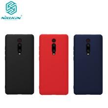 Nillkin بالمطاط TPU حالة ل Xiaomi Redmi K20 حالة المطاط ملفوفة السائل سيليكون لمسة ناعمة الغطاء الخلفي ل Redmi K20 برو