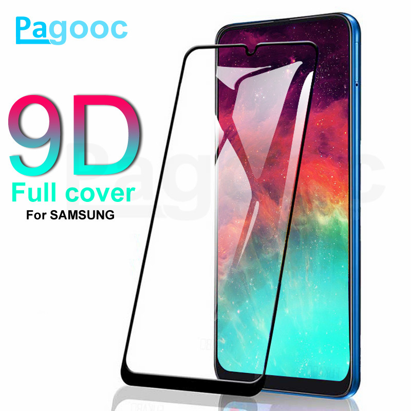 9D Protective <font><b>Glass</b></font> on For <font><b>Samsung</b></font> Galaxy A10 A20 A30 A40 <font><b>A50</b></font> A60 Screen Protector For <font><b>Samsung</b></font> A70 A80 A90 <font><b>Glass</b></font> M10 M20 M30 M40 image