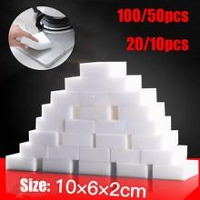 100*60*20mm Eraser Melamine Magic Sponge Cleaner Cleaning Sponges for Kitchen Bathroom Cleaning Tools