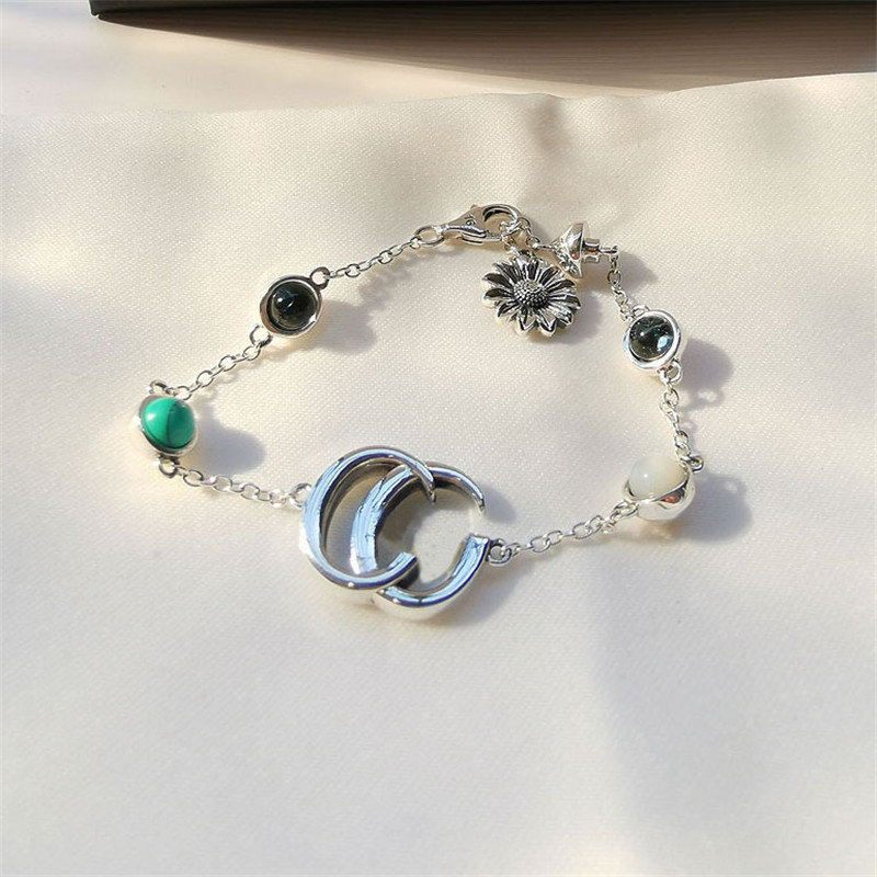 TIF 925 Sterling Silver Bracelet, Exquisite Workmanship, Classic Micro-scale Fashion Gift Original Classic LOGO Jewelry Gift