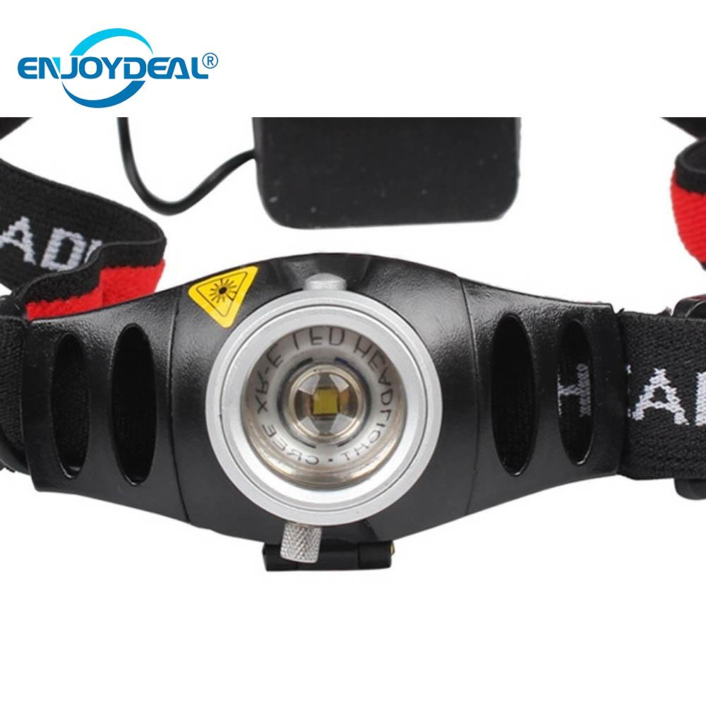 Adjustable Focus Led Headlamp 2000 Lumens Q5 LED Headlight Torch Outdoor Camping Fishing Head Light Lanterna Use 3x AAA M4