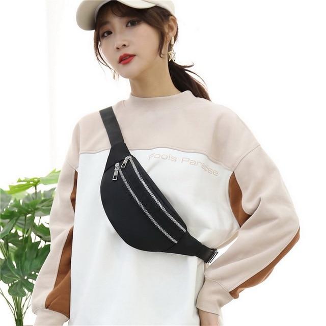 2020 New Waist Bags Waterproof Pack For Women Fashion Bum Bag Ladies Travel Crossbody Chest Bags Unisex Hip Bag Belt Purse 3