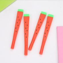 Cute watermelon neutral pen black signature student stationery office prize supplies