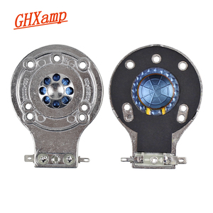 GHXAMP для динамика 2412H-1 2412, ремонт звуковых катушек 24,8 мм, синяя диафрагма, титановая пленка, плоская, 2 шт.