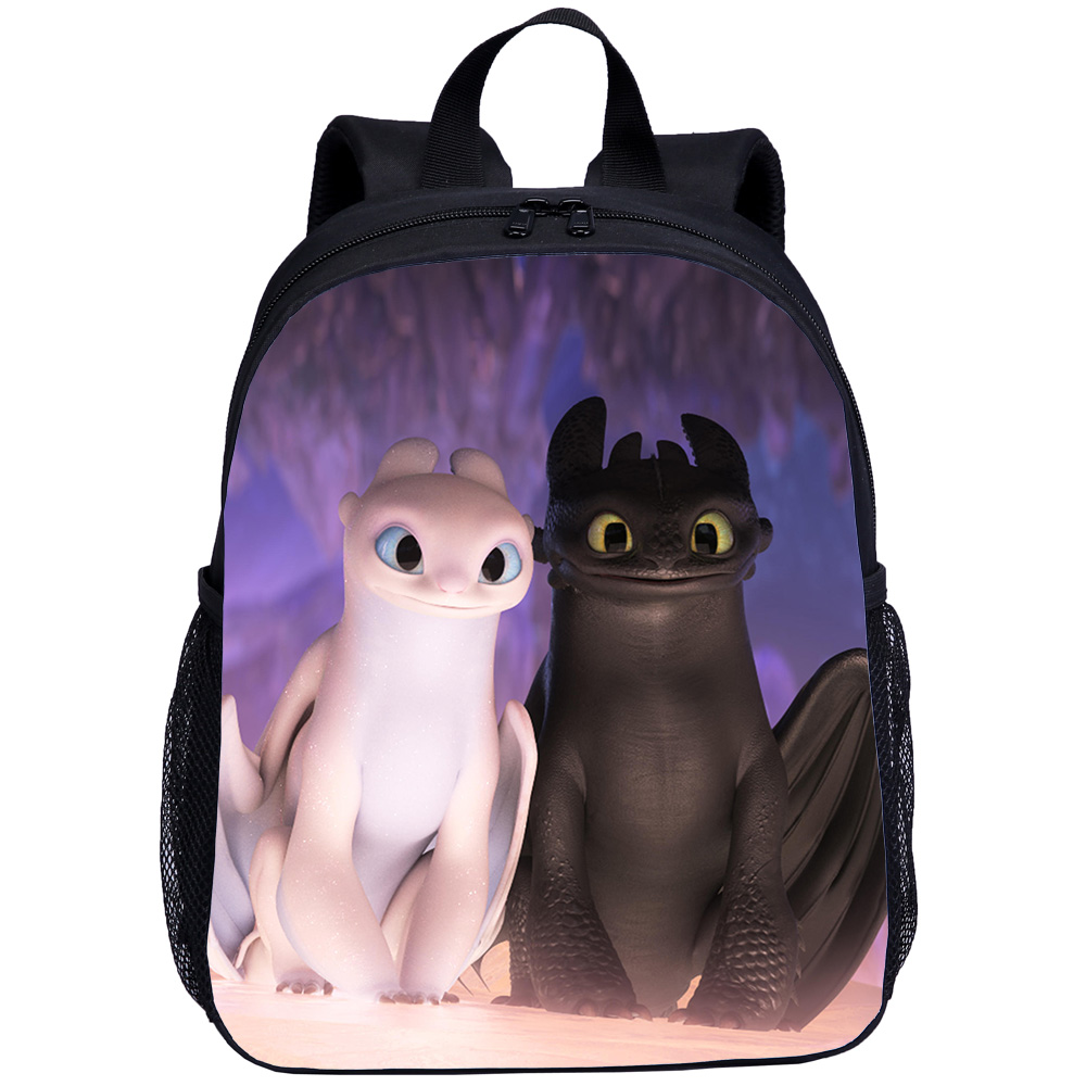 Small Backpacks For Boys Girls How To Train Your Dragon Night Fury 3D Printing Bookbag Kids School Bag Satchel Mochila Escolar