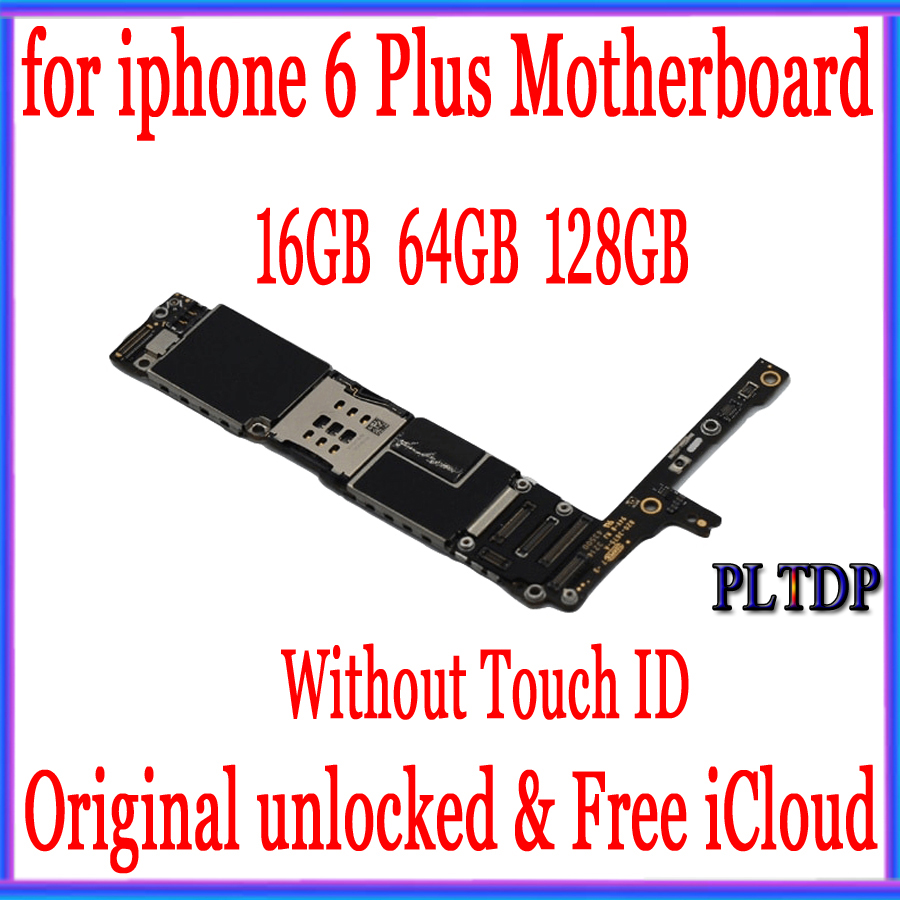 Image 2 - High Quality, Unlocked for iphone 6 plus Motherboard with/without Touch ID +Free iCloud,Original for iphone 6plus Mainboard-in Mobile Phone Antenna from Cellphones & Telecommunications
