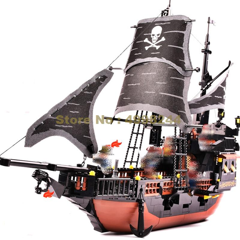 9115 652pcs pirates ship black pearl building block Bricks Toy | Model Building