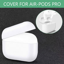 Plain White Skin Case For Airpods Pro PC Shockproof Cover For Apple AirPods Pro Earphone for Air Pods Pro Protector Case 19Nv(China)