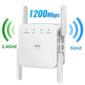 Repeater 1200mbps Router Signal-Amplifier Wifi-Booster Extender-5g 5ghz Long-Range Wi-Fi