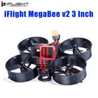 iFlight MegaBee 3 Inch Cinewhoop FPV Racing Drone BNF F4 Flight Controller 2-4S 35A ESC 500mW VTX Support GoPro5/6/7 4K Cam
