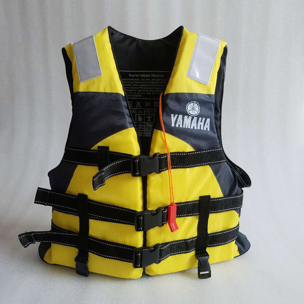 Hot sell life vest Outdoor rafting yamaha life jacket for swimming snorkeling wear fishing Professional drifting child adult 5