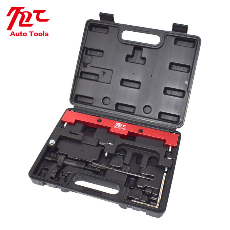 DPTOOL Camshaft Timing Tool Kit Compatible with BMW 318I 320I 316I E87 E46 E60 E90 E85 N42 N46 N46T Engines