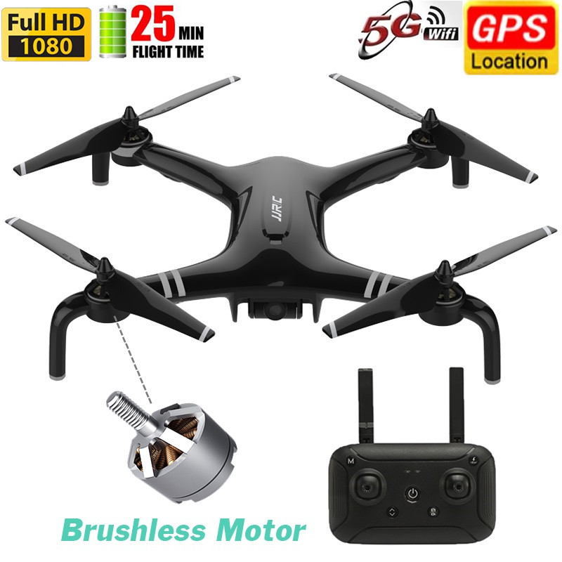 Bezszczotkowy podwójny GPS 1080P 5G dron FPV RTF uniwersalny wspólny Quadcopter 23minu HD FPV lot fotografia lotnicza zdalnie sterowany dron helikopter