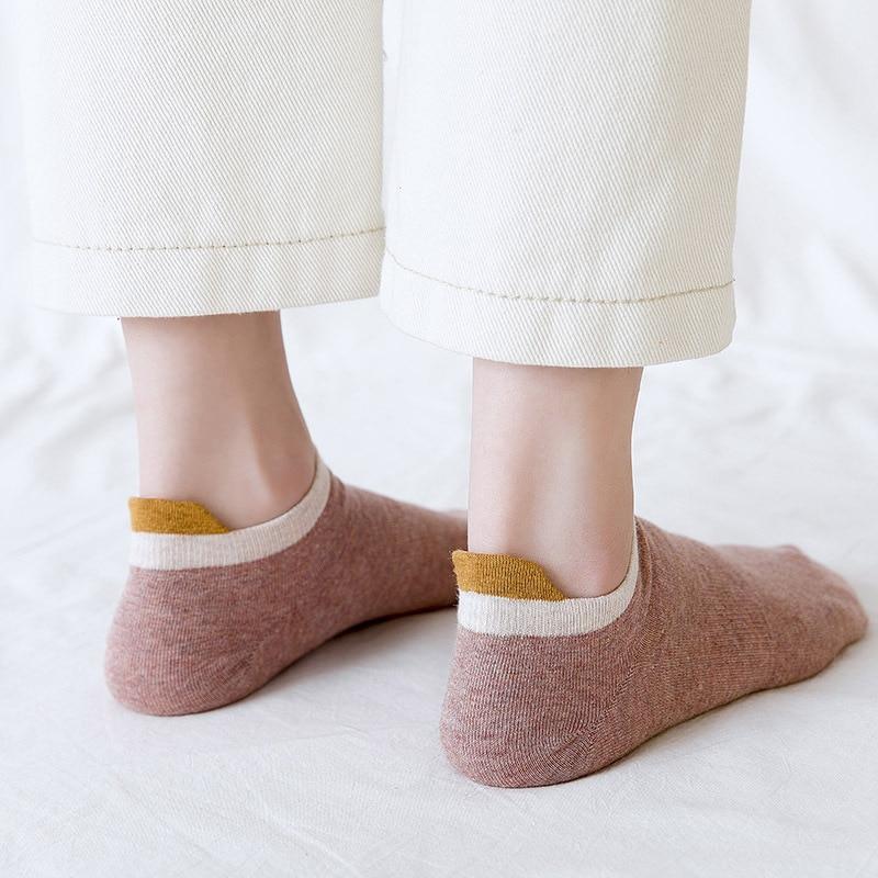 Fashion New Cotton Women Ankle Socks 2019 Autumn Breathable Deodorant Short Cute Fashion Brief Wild Trend Motion Socks Women