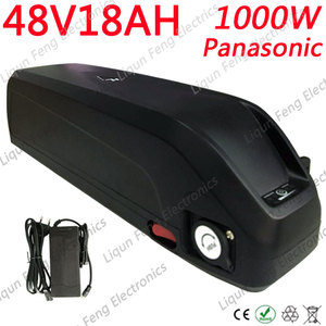48V 10AH 13AH 13.6AH 17ah 18AH Electric Bike Battery 48V Lithium Battery Use Panasonic Cell For 48V500W 750W 1000W Ebike Motor(China)