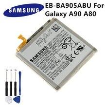 Samsung D'origine EB-BA905ABU Batterie Pour Samsung Galaxy Samsung Galaxy A90 A80 Remplacement Batterie de Téléphone 3700mAh