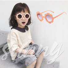 GQ456 Vintage New Kids fashion Sunglasses Boys Girls luxury brand Sun Glasses Safety Gift Children Baby UV400 Eyewear
