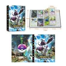 240 pièces Album Carte Pokémon Support De Livre Reliure Carte Anime Dessin Animé Jeu de Carte Dossier Chargé Liste Collection Enfants Jouet Garçon Cadeau